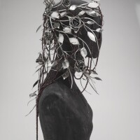11. silver 'joan' headdress, shaun leane