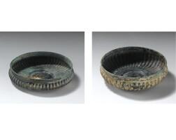 112. two persian bronze bowls, 8th/7th century b.c.