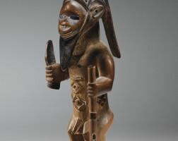 21. statuette, bembe, république du congo