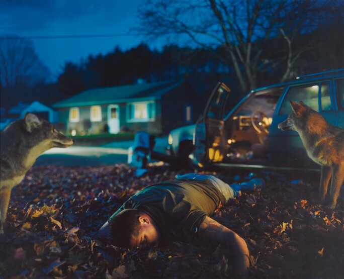 Gregory Crewdson, Untitled (Bud Man) Twilight