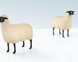 26. françois-xavier lalanne | two moutons de pierre