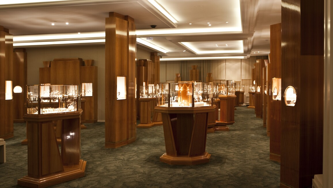 Interior View, Patek Philippe Museum