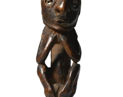 215. biwat crouching figure, lower sepik region, papua new guinea