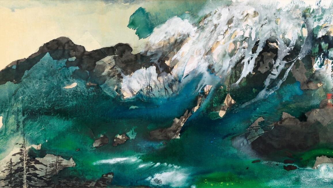 Zhang Daqian, MANCHURIAN MOUNTAINS