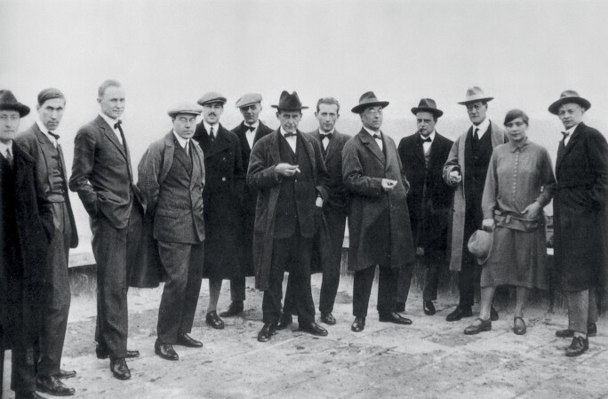 Members of the Bauhaus