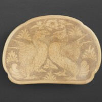 3001. a cizhou incised 'bird' pillow northern song – jin dynasty |
