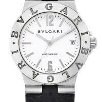 9. bulgari | bulgari-bulgari, reference lc w 35 ga white gold wristwatch with date, circa 2000