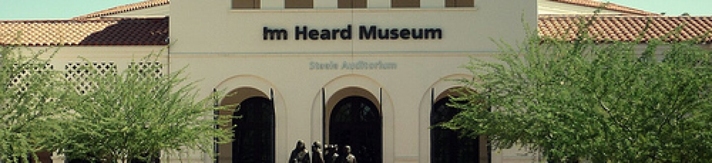 Exterior view of the Heard Museum