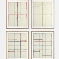 16. 布萊斯·馬登 | 《巴塞爾素描(窗戶習作第1、2、4、5號)》