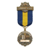 8. the gold vimy pilgrimage medal, 1936