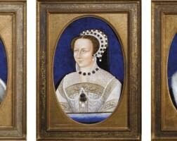 7. france, limoges, xixe siècle, à la manière de léonard limosin (1505-1575)