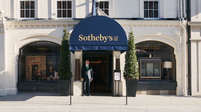 Sotheby's Auction House in London