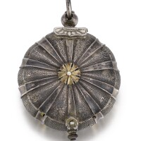 7. daniel gom, lyon | a very raresilver verge watch in the form of a sea urchincirca 1640