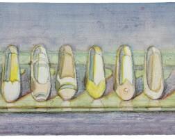 30. wayne thiebaud | shoe rows
