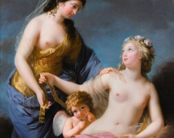 3. elisabeth louise vigée-le brun | juno borrowing the belt of venus