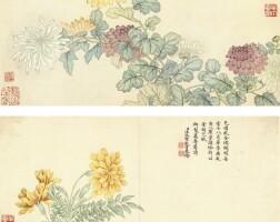 1201. 汪承霈 (?-1805) | 四時花卉
