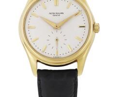 41. 百達翡麗(patek philippe) | 2526型號黃金腕錶,1955年製。