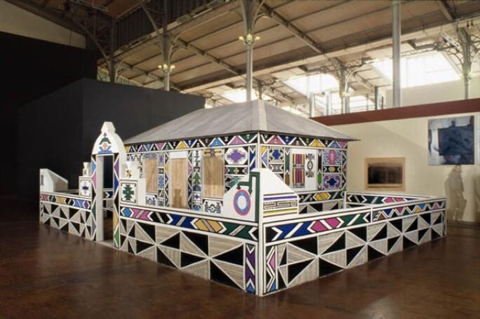 Reinventing Tradition Esther Mahlangu African Modern