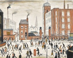 15. Laurence Stephen Lowry, R.A.