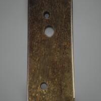 35. lame cérémonielle en jade période néolithique, culture longshan, ca. 2500-2000 avant j.-c.