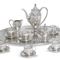 20. an austro-hungarian silver coffee service, j. c. klinkosch, vienna, circa1900  