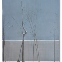 1154. 劉野 | 竹子和樹的構圖