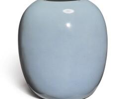 1038. a 'ru'-type vase qing dynasty, 19th century |