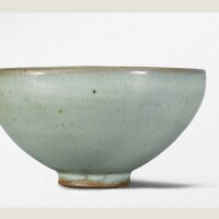 8. a pale 'moon white' 'jun' bowl song dynasty
