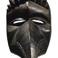6. dan bird mask,côte d'ivoire or liberia