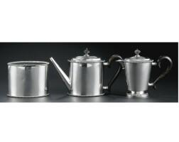 10. a dutch silver tea service, rudolf sondag, rotterdam, 1792