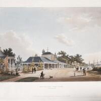 41. hulley, six views of cheltenham. r.ackermann, 1813 [watermark, 1816]