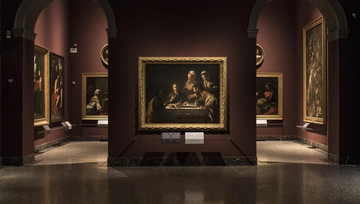 Pinacoteca di Brera, 17th-century painting