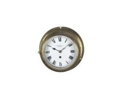 9. an irish brass ship's wall timepiece, s.d. neill, belfast, first quarter 20th century