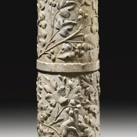 42. a roman marble relief column, circa early 1st century a.d. | a roman marble relief column