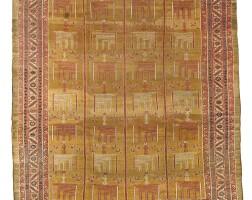 158. a bakshaish carpet, north persia