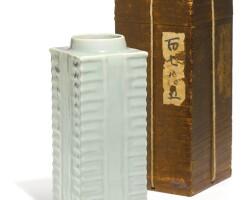 23. a 'longquan' celadon cong vase song dynasty