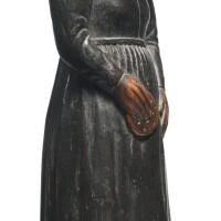 164. haida portrait figure, northwest coast