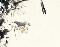 533. 張大千 1899-1983 | 枝頭小鳥