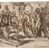 6. school of the veneto, 16th century | the raising of lazarus