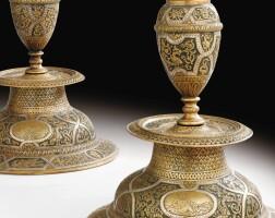 2. italian, venice, late 16th century, | pair of candlesticks