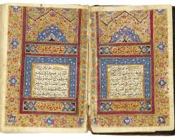48. an illuminated miniature qur'an, copied by muhammad taqi ibn muhammad hadi, persia, isfahan, zand, dated 1177 ah/1763-64 ad  