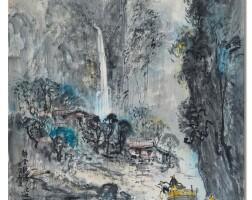 848. ran in-ting | waterfall