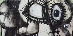 George Condo | Whistler's Father