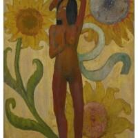 25. 保羅・高更 | 《加勒比女人》