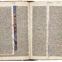 10. bible, with prologues and interpretations of hebrew names, in latin [france (paris), 13th century, 3rd quarter]