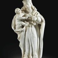 2. vierge à l'enfant, bourgogne ou touraine, milieu du xve siècle