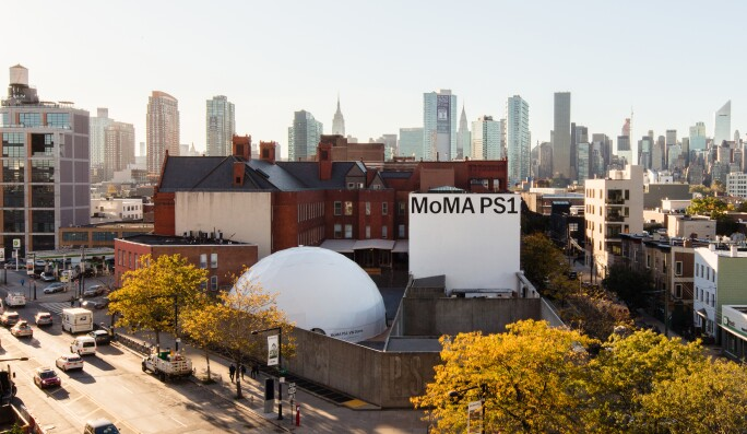 MOMA PS1 Exterior