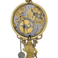 6. 德國製 | 文藝復興時期銅鎏金活動人偶座鐘,應在斯圖加特製造,年份約1570或之後