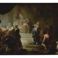 3. johann zick | the sacrifice at lystra