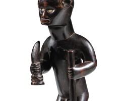 41. statuette, bembé, république démocratique du congo |